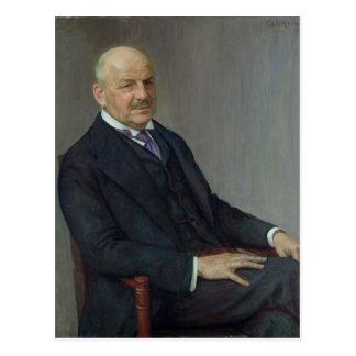 Carte Postale Portrait d'Alfred Lichtwark 1912