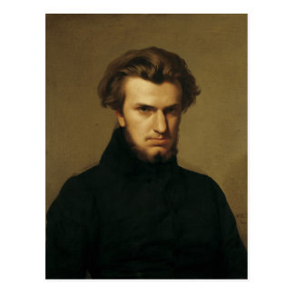 Carte Postale Portrait d'Ambroise Thomas 1834