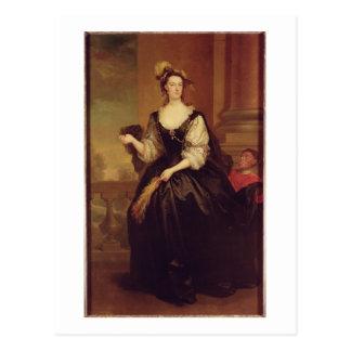 Carte Postale Portrait d'Anne Howard, Madame Yonge (huile sur la