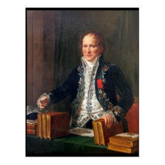 Carte Postale Portrait d'Antoine Francois de Fourcroy