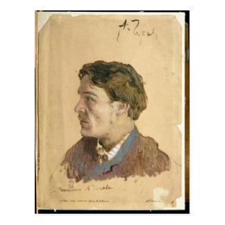 Carte Postale Portrait d'Anton Chekhov