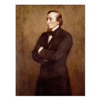 Carte Postale Portrait de Benjamin Disraeli