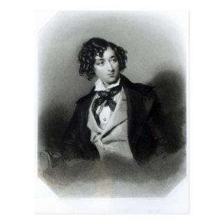 Carte Postale Portrait de Benjamin Disraeli Esquire M.P.
