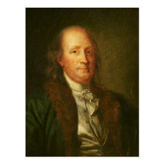 Carte Postale Portrait de Benjamin Franklin