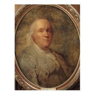 Carte Postale Portrait de Benjamin Franklin, c.1780