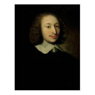 Carte Postale Portrait de Blaise Pascal