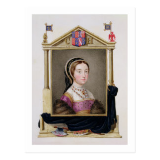 Carte Postale Portrait de Catherine Howard (c.1520-d.1542) 5ème