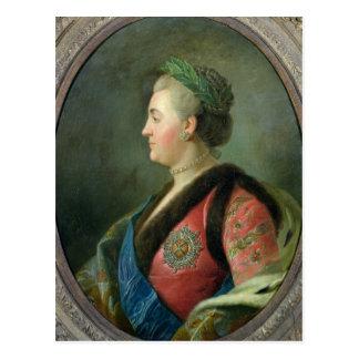 Carte Postale Portrait de Catherine II de la Russie
