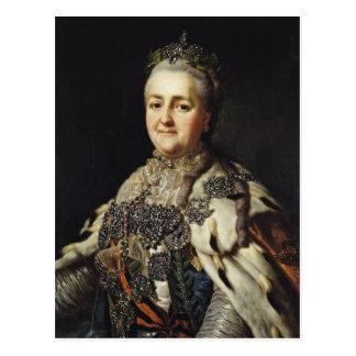 Carte Postale Portrait de Catherine II de la Russie 2
