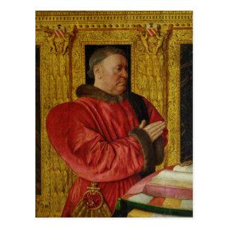 Carte Postale Portrait de chancelier Guillaume Jouvenel