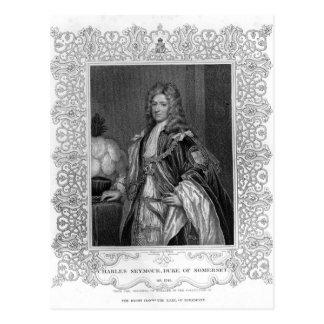 Carte Postale Portrait de Charles Seymour, duc de Somerset