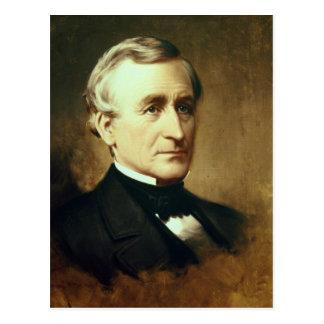 Carte Postale Portrait de Charles Wilkes 1870