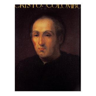 Carte Postale Portrait de Christophe Colomb