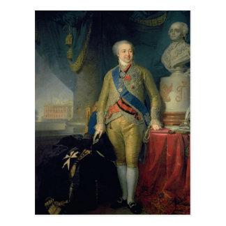 Carte Postale Portrait de compte Alexandre Kurakin, 1802