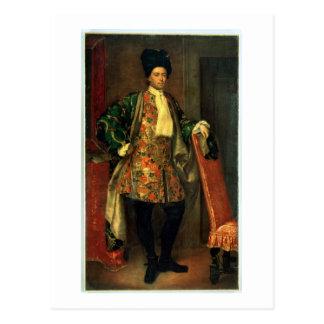 Carte Postale Portrait de compte Giovanni Battista Vailetti