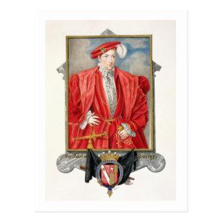 Carte Postale Portrait de comte de Henry Howard (c.1517-47) de