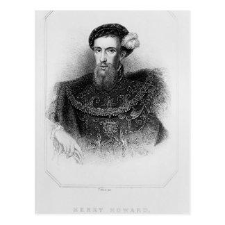 Carte Postale Portrait de comte de Henry Howard de Surrey
