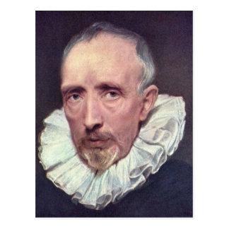 Carte Postale Portrait de Cornélius van der Geest par Van Dyck