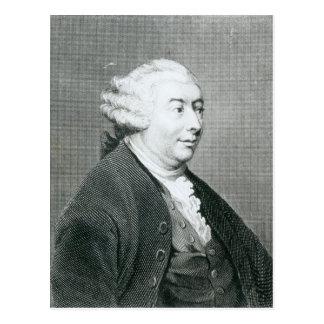 Carte Postale Portrait de David Hume
