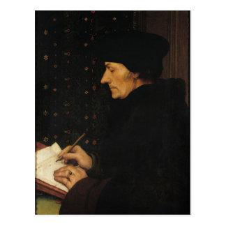 Carte Postale Portrait de Desiderius Erasmus