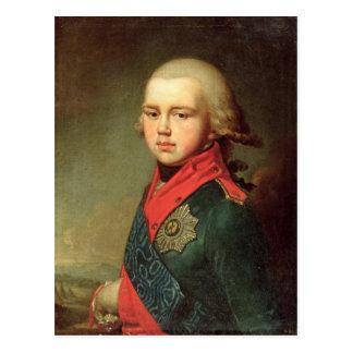 Carte Postale Portrait de duc grand Konstantin Pavlovich