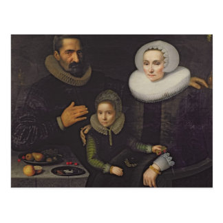 Carte Postale Portrait de famille