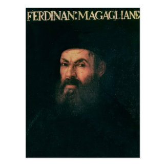 Carte Postale Portrait de Ferdinand Magellan