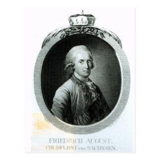 Carte Postale Portrait de Frederick Augustus I