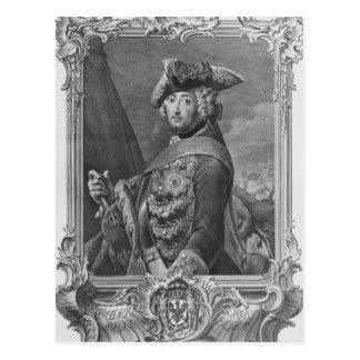 Carte Postale Portrait de Frederick II, le grand