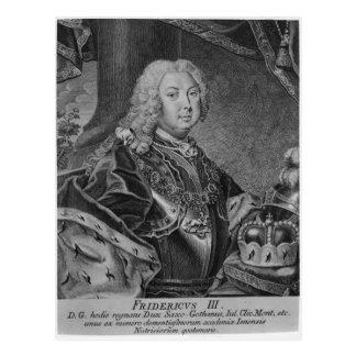 Carte Postale Portrait de Frederick III