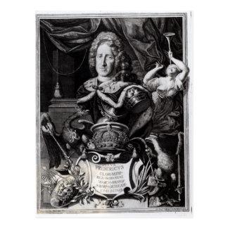 Carte Postale Portrait de Frederick William I