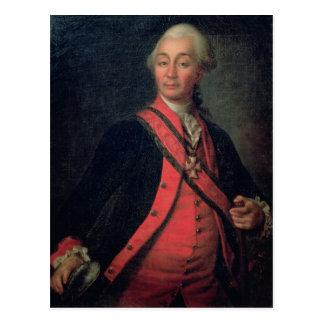 Carte Postale Portrait de général de grade supérieur de maréchal