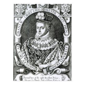 Carte Postale Portrait de Henry Stewart