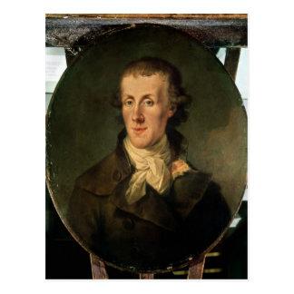 Carte Postale Portrait de Jacques Pierre Brissot