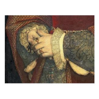 Carte Postale Portrait de Jane Seymour, 1536