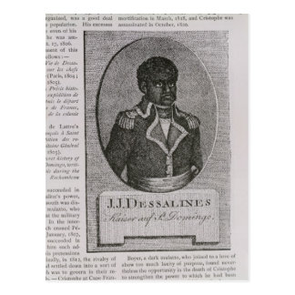 Carte Postale Portrait de Jean-Jacques Dessalines