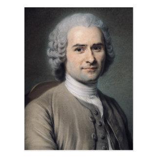 Carte Postale Portrait de Jean-jacques Rousseau