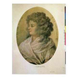 Carte Postale Portrait de Jeanne-Marie Roland de la Platiere