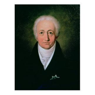 Carte Postale Portrait de Johann Wolfgang von Goethe, 1818