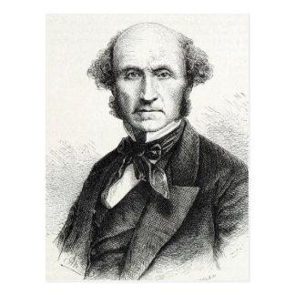 Carte Postale Portrait de John Stuart Mill
