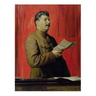 Carte Postale Portrait de Josif Stalin, 1933