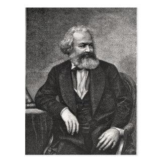 Carte Postale Portrait de Karl Marx 1857