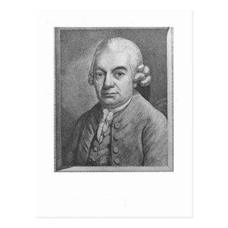 Carte Postale Portrait de Karl Philipp Emanuel Bach (1714-88) (e