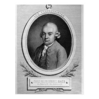 Carte Postale Portrait de Karl Philipp Emmanuel Bach