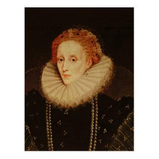 Carte Postale Portrait de la Reine Elizabeth I