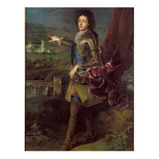 Carte Postale Portrait de Louis Auguste de Bourbon