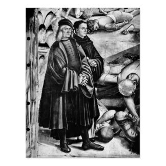 Carte Postale Portrait de Luca Signorelli et d'ATF Angelico
