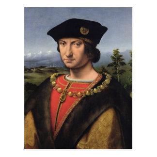 Carte Postale Portrait de maréchal de d'Amboise de Charles de la