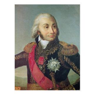 Carte Postale Portrait de maréchal Jean-Baptiste Jourdan