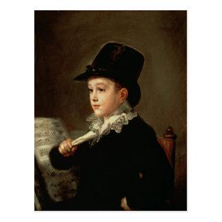 Carte Postale Portrait de Marianito Goya
